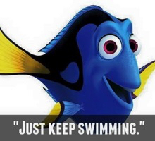 "Top 3 Things That Keep People From Focusing on their Wellbeing - ""Just Keep Swimming"""